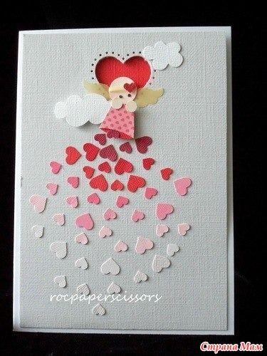 Открытки на день Святого Валентина. Автор Rosa Clifford. Идеи для вдохновения