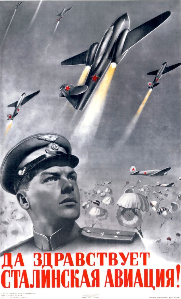 Long Life Stalin Air Force - The Greatest Soviet Propaganda Posters Ever