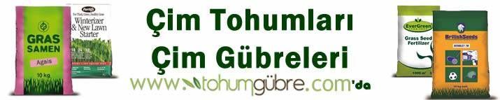 Çim Tohumları: https://www.tohumgubre.com/cim-tohumlari/7/4.aspx Çim Gübreleri: https://www.tohumgubre.com/peyzaj-gubreleri/7/5.aspx