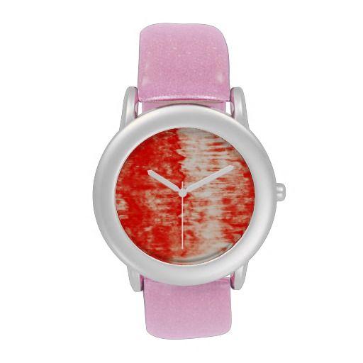 Red Sunrise Watch