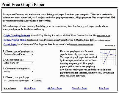 Get Free, Printable Graph Paper In Minutes Free printable - printable graph paper