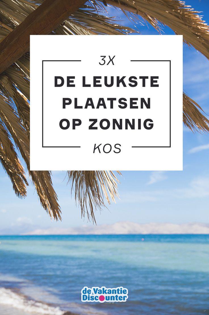 Ben jij in voor een Griekse zonvakantie met vooral veel strand, maar ook de mogelijkheid om uitstapjes te maken? Ga naar Kos! Dit eiland staat bekend als fietseiland, kent een zonnig klimaat en herbergt leuke badplaatsen.