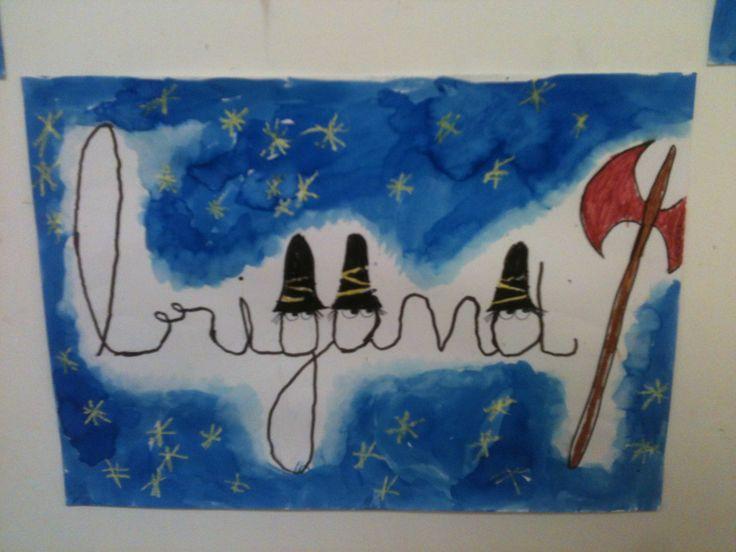 Les 3 brigands - La classe de Teet et Marlou