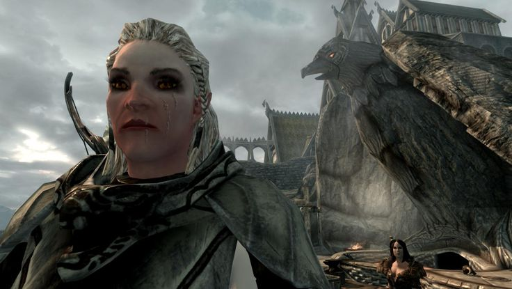 Playable Dawnguard Snow Elf Race at Skyrim Nexus - mods and community