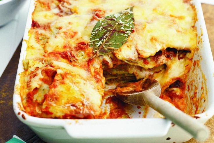 Everyone will love this delicious vegetarian lasagne but don't share the secret of how you did it so quickly and easily.