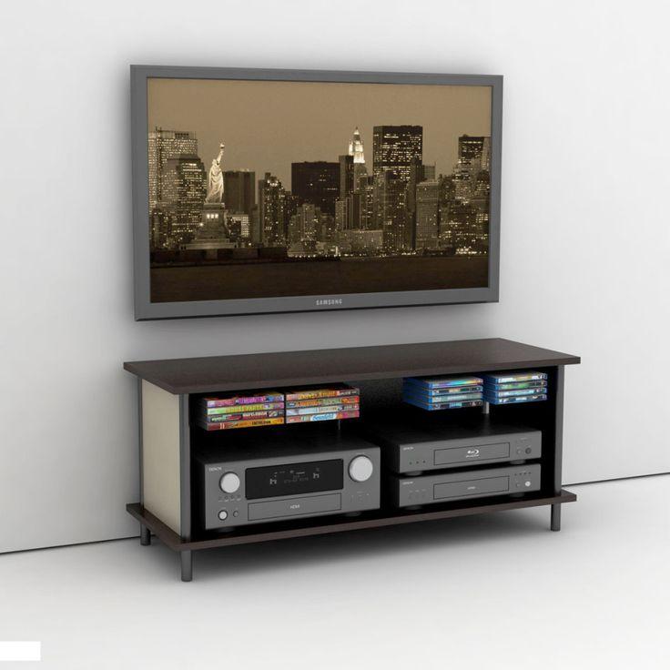 11 best tv wall mounted shelves images on pinterest tv. Black Bedroom Furniture Sets. Home Design Ideas