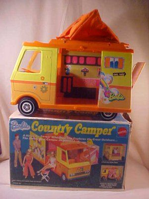 Barbies Country Camper - hours of fun!