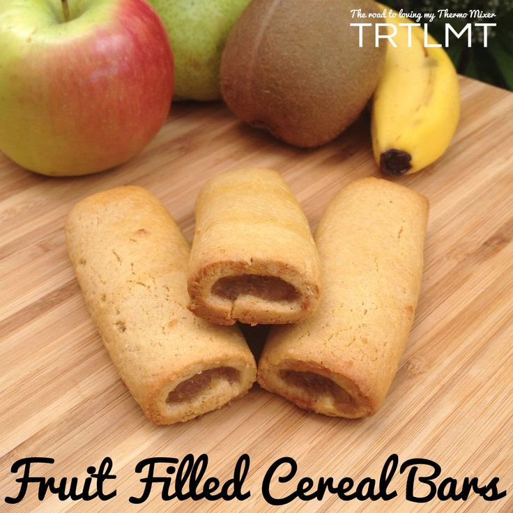 Fruit Filled Cereal Bars