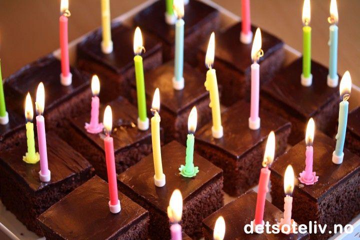 Barnehagens beste sjokoladekake   Det søte liv