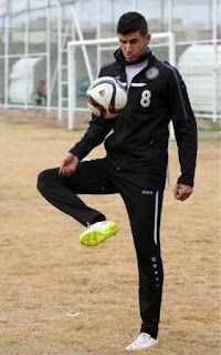 #IslamicState militants drove Ayman Hussein from his home. Eighteen months later, he sent #Iraq's #soccer team to the #Olympics. Hussein scored the game-winning goal against #Qatar last month in a qualifying match, uniting #Iraqis in a rare moment of triumph and becoming a national #celebrity.