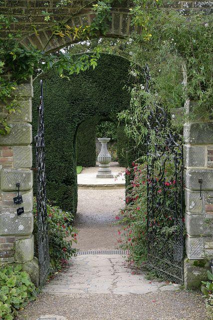 Beautiful Walled Garden Wakehurst East Sus England
