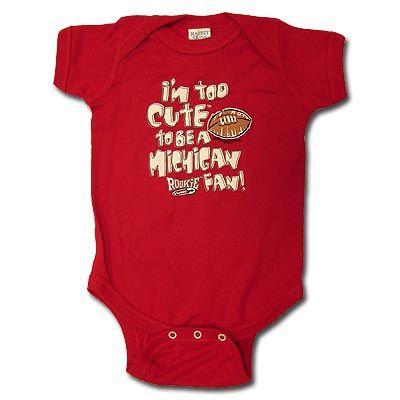 """Item D1-92:  Infant """"Too Cute"""" Onesie"""