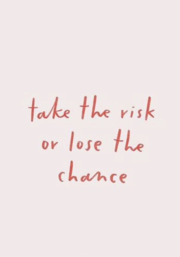 take the risk or lose the chance || entrepreneur quotes