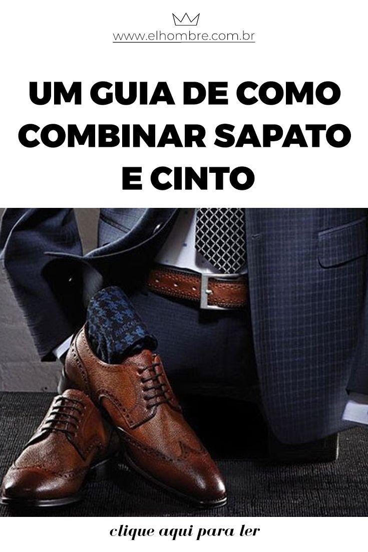 e24e40926f6 Um guia de como combinar sapato e cinto