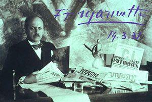 F. T. Marinetti Το Μανιφέστο του Φουτουρισμού