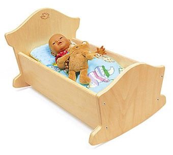 Wooden Doll Bed Plans WoodWorking Projects amp