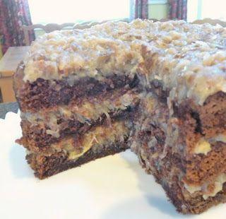 Best recipes: Homemade German Chocolate Cake