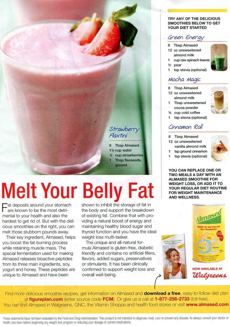 ALMASED for diabetics - melt your belly fat