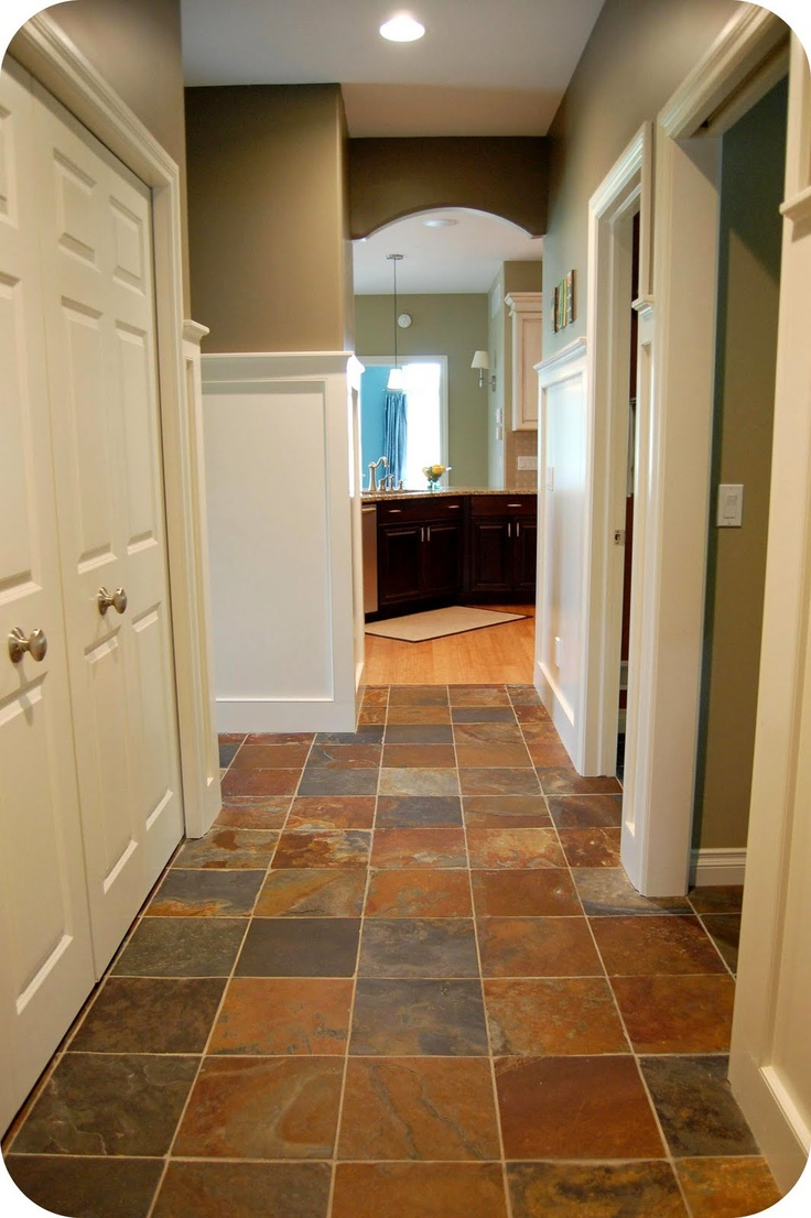17 best stone natural slate floors images on pinterest slate the floor is 12 x 12 tiles of natural slate from daltile paint dailygadgetfo Gallery