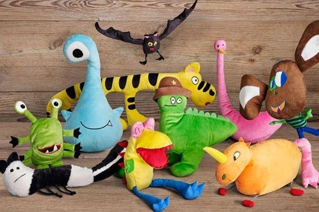 ИКЕА превратила детские рисунки в мягкие игрушки - Bird In Flight