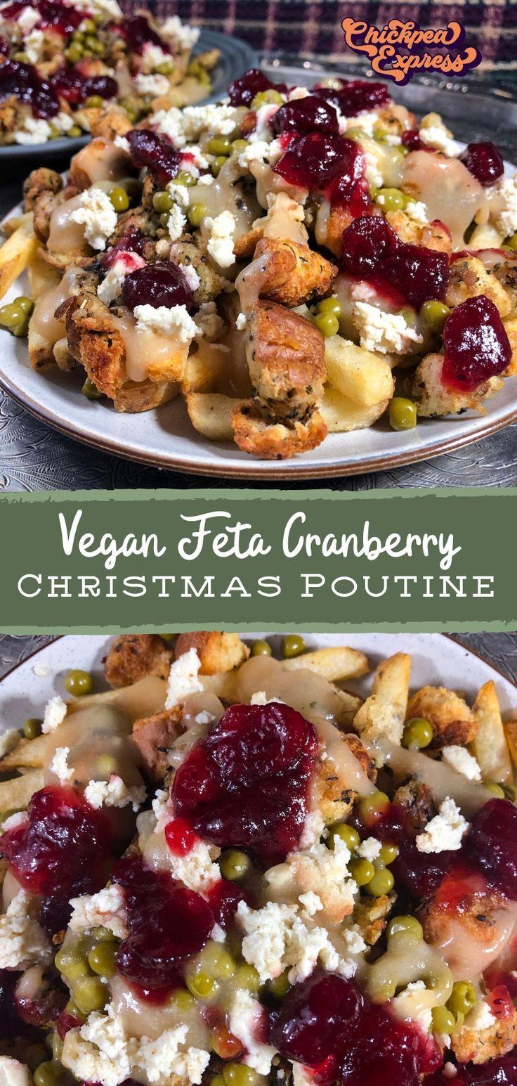 Vegan Christmas Poutine Recipe in 2020 Vegan
