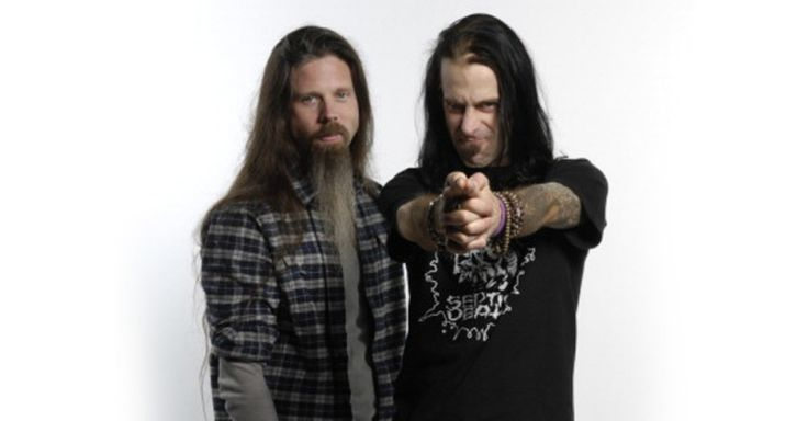 Chris Adler and Randy Blythe of Lamb of God #RVA #Richmond #Virginia