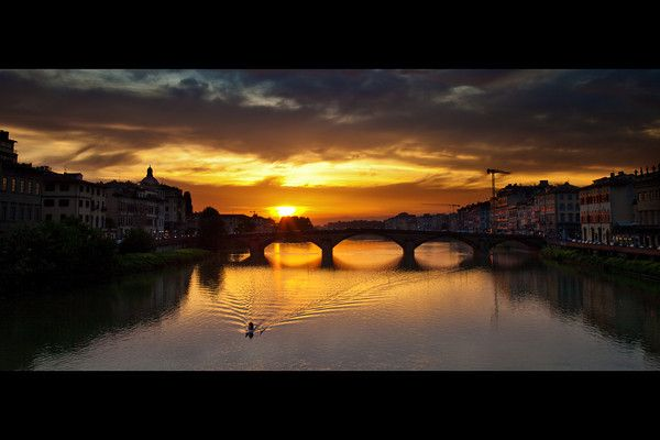 The River Arno, Florence.