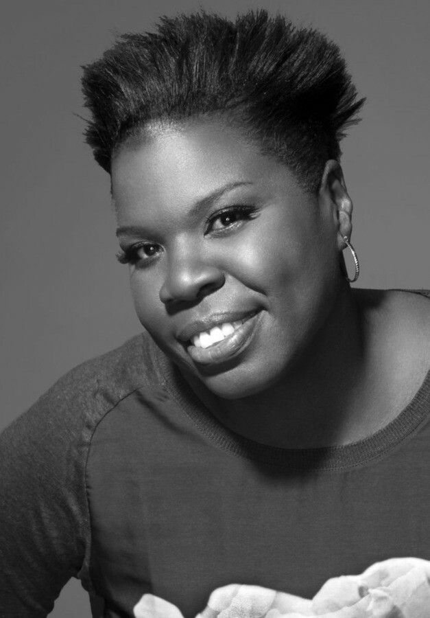 """Leslie Jones, American comedian & actress. She is a cast member & writer for Saturday Night Live. Her addition to the cast marked the first time in SNL history that the show's cast has included more than one African-American woman. She also starred in Ghostbusters, Top Five, & Trainwreck, had a Showtime stand up special, & appeared in several comedy festivals. She gained attention as a Team USA """"superfan,"""" & covered the Rio Olympics for NBC. She is a graduate of Colorado State University."""