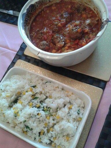 Meatball casserole