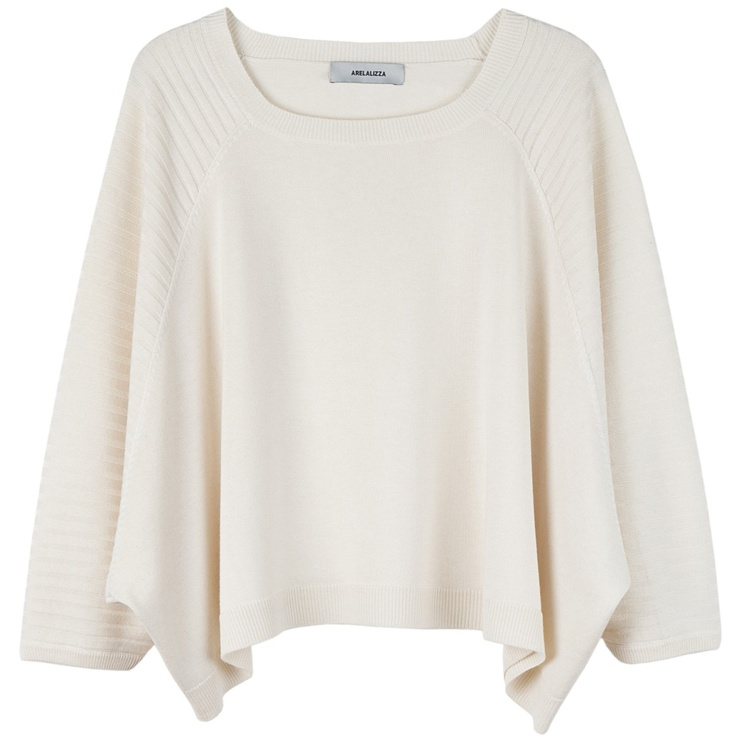 Arelalizza rib sleeve jumper