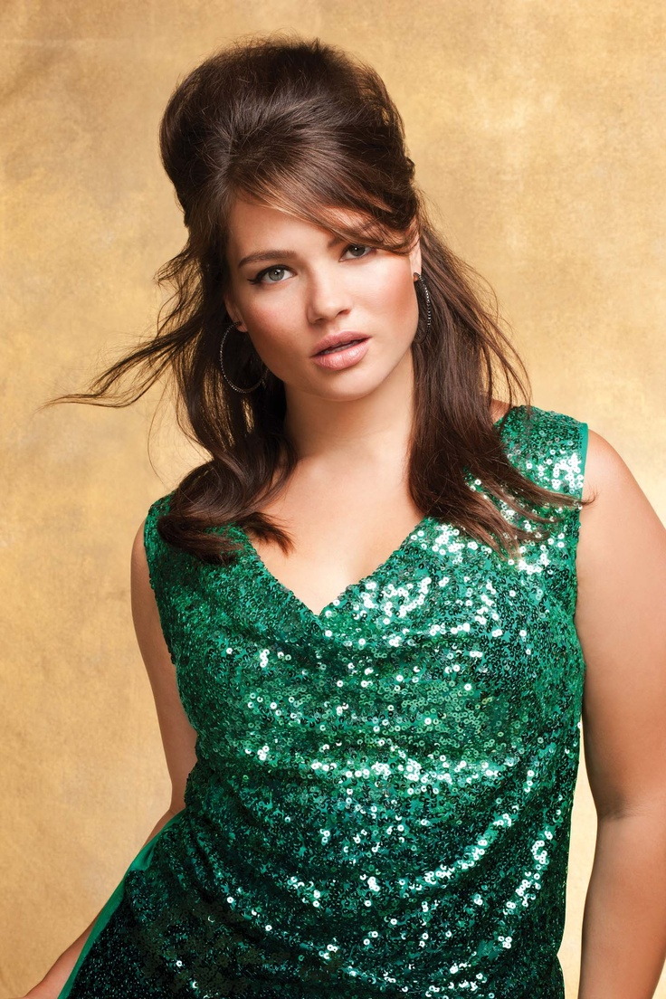 Addition Elle Holiday Lookbook 2012, sequins, jewel tones, plus size