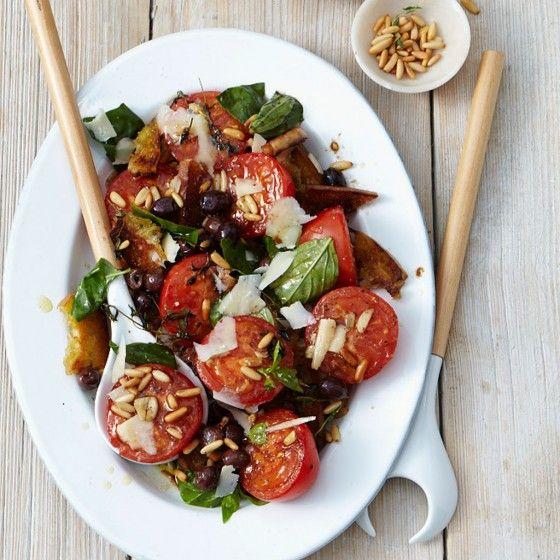 25 best ideas about tomatensalat rezept on pinterest tomaten mozzarella salat tomaten. Black Bedroom Furniture Sets. Home Design Ideas