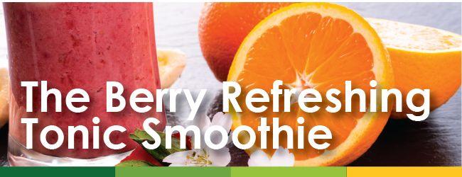 Immune Health Month - Tonic Smoothie