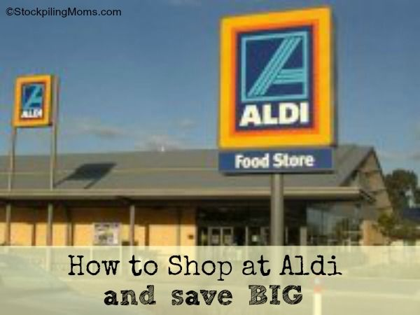 How to shop at Aldi and save BIG!