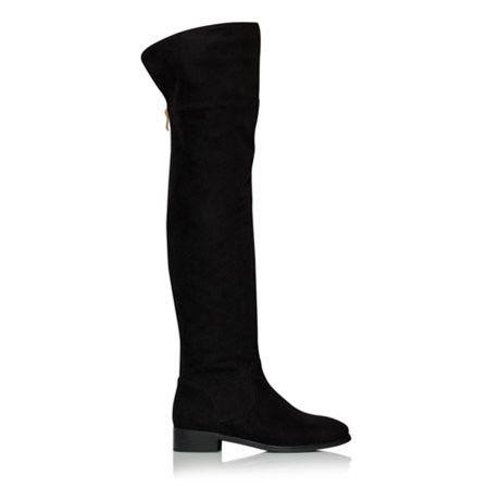 Billini Sera Black Vegan Suede Knee High Boots – Famous Rock Shop