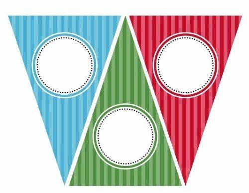 Banderines de Fiestas para Imprimir Gratis