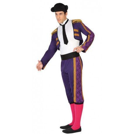 Disfraz de Torero en morado