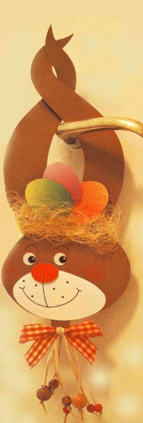 Húsvéti kilincselő Kreatív Mánia | Kézműves blog