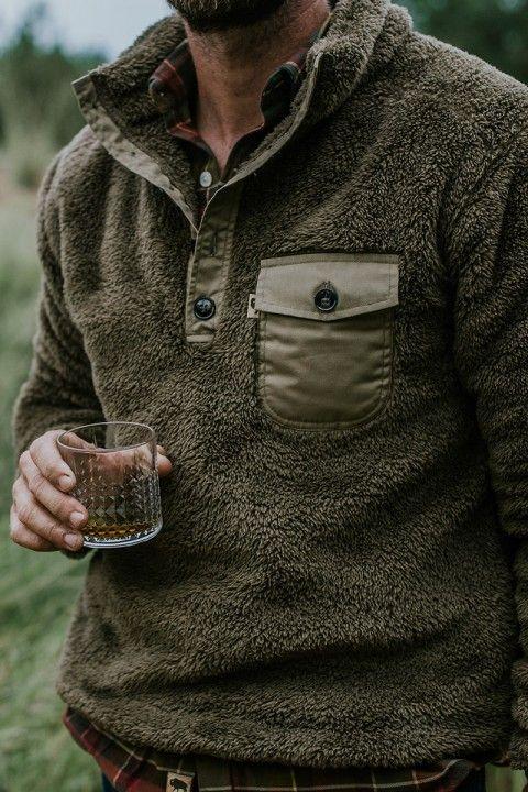 Kodiak Fleece Pullover - Birchwood Green