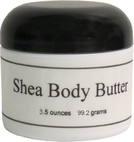 Vanilla Sandalwood Shea Body Butter, 3.5 oz by Eclectic Lady. $11.49. 3.5 Ounces. Shea butter is pressed from the African karite tree seed, which has been used for thousands of years. Shea butter gives natural UV protection, is high in vitamins A & E, soothes irritated and chapped skin, and moisturizes. A little bit of this goes a long way. Give your dry areas a major dose of moisture that lasts all day. There are no colors or preservatives in our Shea Body Butter.Vani...