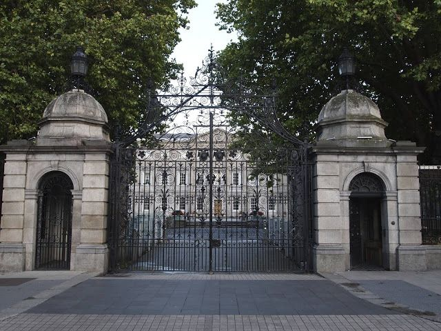 'On a flesh and bone foundation': An Irish History: Leinster House, the seat of the Oireachtas, Irish Parliament