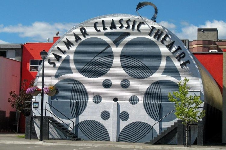 The Salmar Classic Movie Theatre  Salmon Arm Britsh Columbia - Canada... the first non-profit, community owned movie theatre in Canada