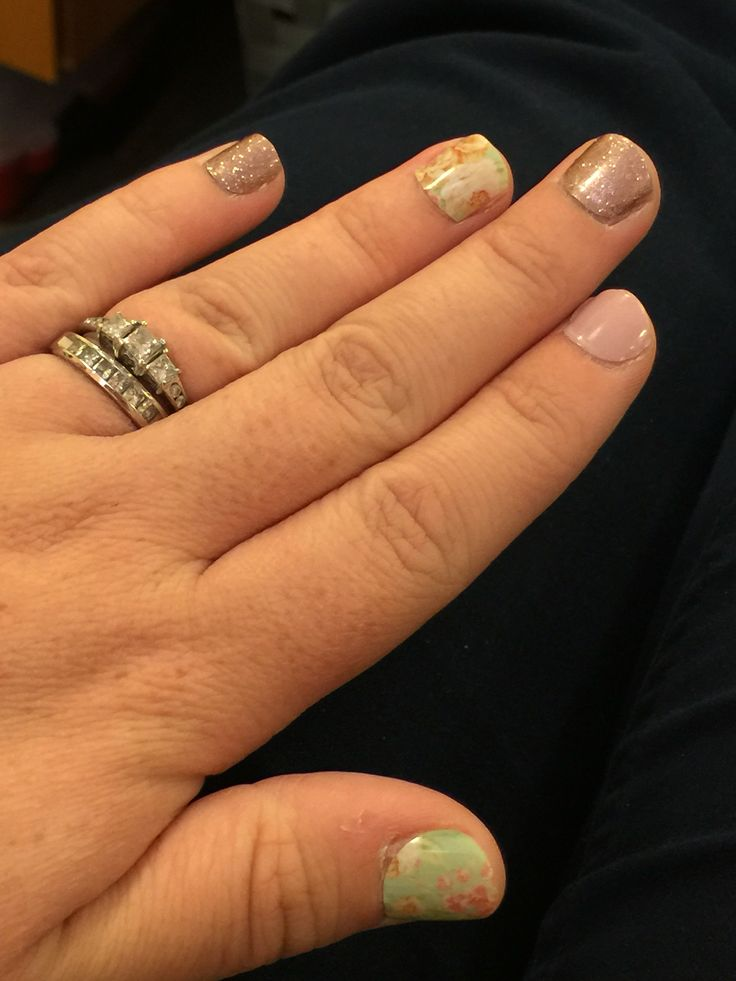 jamberry nail wraps vintage chic daydream amp rose gold