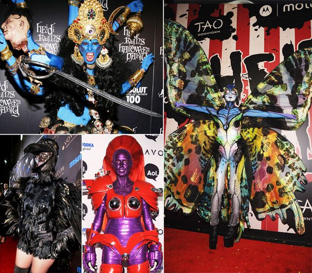 2011 Photo - Heidi Klum's Best Halloween Costumes - Us Weekly