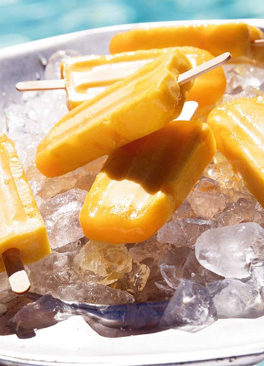 How to make Mango & Passionfruit Ice-Cream Blocks