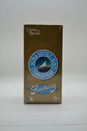 CARTINA SMOKING BLUE CORTA 60 PZ