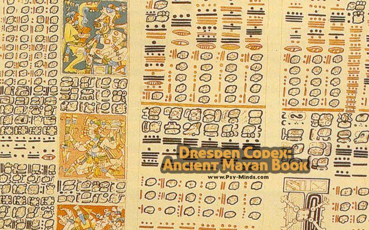 Dresden Codex: Ancient Mayan Book - @psyminds17