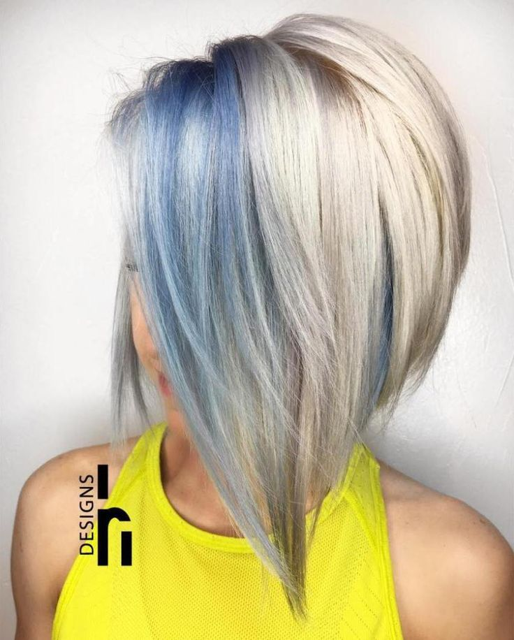 30 Icy Light Blue Hair Color Ideas For Girls Blonde Bobs Bobs And Blondes