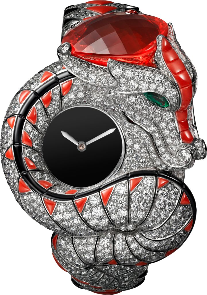 Rosamaria G Frangini | High Watches Jewelry | High Animal Jewellery | Dragon Mystérieux Watch
