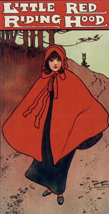 Little Red Riding Hood. Belfast, 1895.